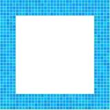 Blu della struttura del mosaico Fotografia Stock Libera da Diritti