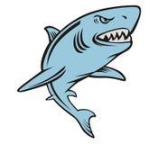 Blu dello squalo Fotografie Stock Libere da Diritti