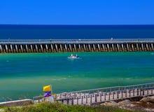 Blu di Florida Fotografie Stock