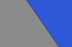 Blu di lerciume di arte sul fondo grigio del modello di colore Fotografia Stock