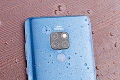 Blu di mezzanotte del compagno 20 di Huawei immagine stock
