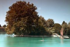 Blu di turchese Fotografie Stock Libere da Diritti