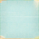 Blu di turchese indossato fondo semplice di sguardo di lerciume strutturato Fotografia Stock Libera da Diritti