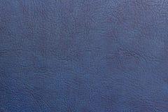 Blu dipinto di cuoio di struttura del fondo dello spazio astratto della copia immagine stock libera da diritti