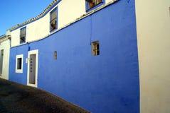 Blu Door a Carmona Immagini Stock