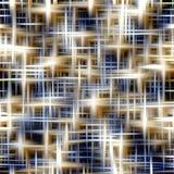 Blu e bianco stars il fondo e la struttura Fotografia Stock