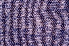 Blu e fondo tricottato beige Immagine Stock Libera da Diritti