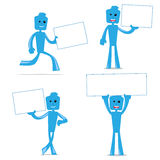 Blu Fun help Stock Images