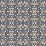 Blu & Grey Damask Wallpaper Pattern senza cuciture Fotografia Stock Libera da Diritti