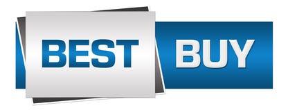 Blu Grey Horizontal di Best Buy Immagine Stock