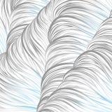Blu grigio allineato Reticolo astratto senza giunte arte allineata disegnata a mano Immagini Stock