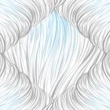 Blu grigio allineato Reticolo astratto senza giunte arte allineata disegnata a mano Fotografie Stock