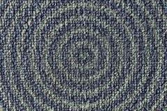Blu irsuto di colore del tappeto fotografia stock libera da diritti