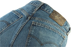 Blu jeans Stock Image
