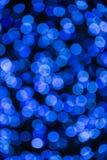 Blu leggero del bokeh fotografia stock libera da diritti