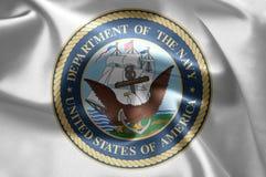 Blu marino di Stati Uniti Fotografia Stock