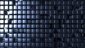 Blu metal background Royalty Free Stock Photo