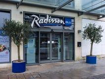 Blu Radisson Bristol, England Stock Image