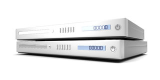 Blu ray devices Stock Images