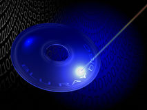 Blu ray disc Royalty Free Stock Image