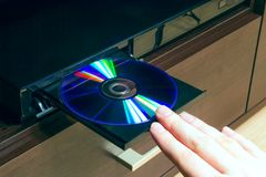 Blu-ray or DVD player Royalty Free Stock Image
