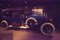 Blu 1914 Rolls Royce Silver Ghost Immagini Stock