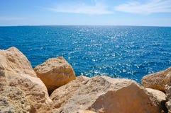 Blu sbalorditivo dell'Oceano Indiano Fotografia Stock Libera da Diritti