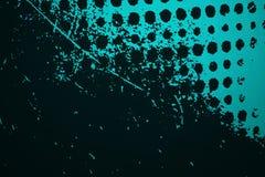 Blu scuro liscio con uso nero del pozzo dello studio di scenetta come backgrou Immagine Stock