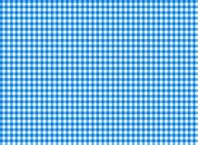 Blu senza cuciture del modello della tovaglia Fotografia Stock Libera da Diritti