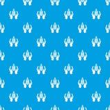 Blu senza cuciture di vettore del modello di difesa delle colture illustrazione vettoriale