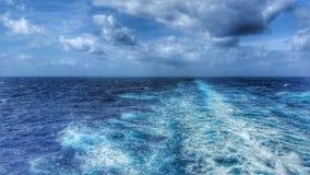Blu senza fine Fotografia Stock