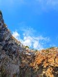 Blu sky. Sea landscape Stock Images