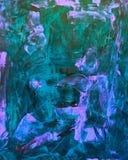 Blu, verde astratto e rosa immagini stock libere da diritti