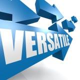 Blu versatile della freccia Immagini Stock