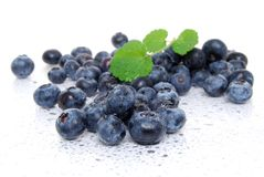 Bluberry Pile Royalty Free Stock Image
