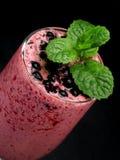 Bluberry yogurt Stock Image