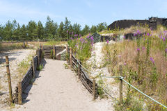 Blucher Bunkers Stock Photography
