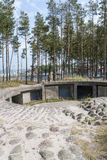 Blucher Bunkers Royalty Free Stock Photo