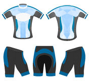 Blude sports cycling vest Stock Image