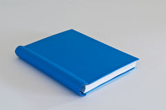 Blue daily. On white background Royalty Free Stock Photography