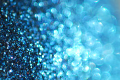 Blue. Focus and defocus macro photo Royalty Free Stock Image