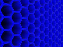 Blue 3d background Royalty Free Stock Photography