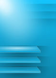 Blue 3d background Stock Photos