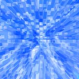 Blue 3d background stock images