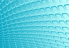 Blue 3d metal vector retro Royalty Free Stock Photo