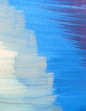 Blue. Shades of blue watercolor background Stock Photos