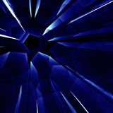 Blue abstarct shine background Royalty Free Stock Photography