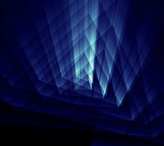 Blue abstarct shine background Royalty Free Stock Photos
