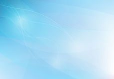 Blue abstrack background with lines waves,  Royalty Free Stock Images