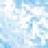 Blue abstrack mosaic background,